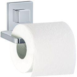 Uchwyt na papier toaletowy QUADRO, Vacuum-Loc - stal nierdzewna, WENKO