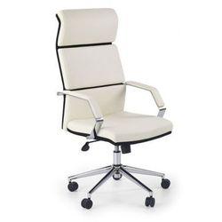 Fotel gabinetowy Halmar Costa biało-czarny, 97672