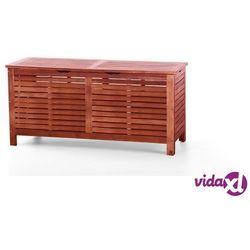 Kufer - skrzynia - ogrodowa - drewniana - na poduchy - TOSCANA