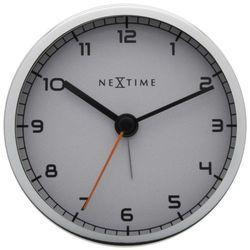 """Zegar stojący """"Company Alarm"""" biały by Nextime, 5194 WI"""