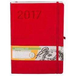 Menadżerski kalendarz 2017. Impresja. B5. Czerwony (książka)
