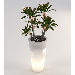 Donica podświetlana LED BENT 69 cm