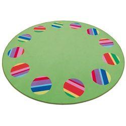 Erzi Dywan okrągły 300 cm do pokoju dziecka, kategoria: dywany dla dzieci