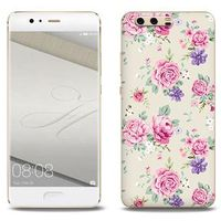 Fantastic case - huawei p10 plus - etui na telefon fantastic case - pastelowe różyczki marki Etuo.pl