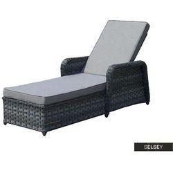 Selsey łóżko ogrodowe upendo szare (5903025547688)