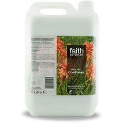 Organiczna odżywka do włosów z aloesem 5 litrów -  wyprodukowany przez Faith in nature