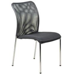 Stema - hn Krzesło konferencyjne hn-7502ch/grafit. stelaż chromowany. krzesło biurowe