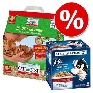 Felix Cats best ecoplus + fantastic w korzystnej cenie! - rybne smaki