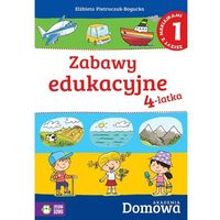 Domowa Akademia. Zabawy edukacyjne 4-latka cz.1, BOOK HOUSE