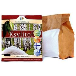 Pięć przemian - simpatiko s.c. Ksylitol pięć przemian cukier brzozowy 500 g