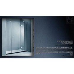 DRZWI PRYSZNICOWE AXISS GLASS AX436HK 1600mm, towar z kategorii: Drzwi prysznicowe