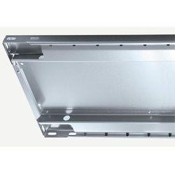 Dodatkowa półka ocynkowana, wys. krawędzi 25 mm, opak.: 2 szt., szer. x głęb. 10 marki Unbekannt