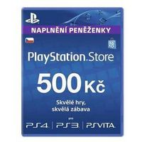 Karta pre-paid  playstation live cards 500kč - ps store czeska (ps719894339), marki Sony