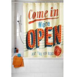 Zasłona prysznicowa, tekstylna, vintage open, 180x200 cm, marki Wenko