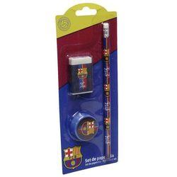 FC Barcelona, zestaw piśmienniczy, 3 elementy z kategorii Pozostałe artykuły szkolne i plastyczne