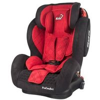 Fotelik samochodowy 9-36 kg Top Kids Pro Comfort ISOFIX zamsz red