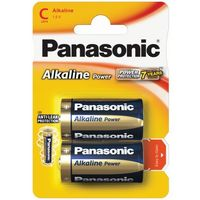 2 x Panasonic Alkaline Power LR14 / C (blister), LR03APB/4BP