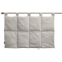 wezgłowie na szelkach, sliver (jasnoszary), 90 x 67 cm, cotton panama marki Dekoria