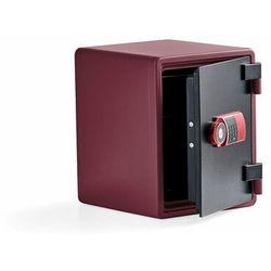Szafa ognioodporna adore, 520x410x445 mm, czerwony marki Aj produkty