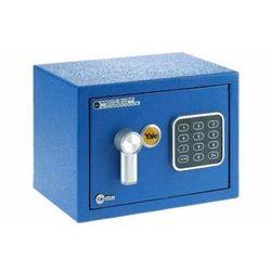 Ysv/170/db1 mały sejf domowy z zamkiem elektronicznym - niebieski marki Yale