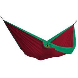 Hamak dwuosobowy, zielono-czerwony THD- (1)