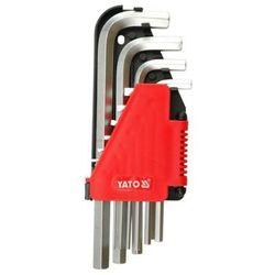 Klucze imbusowe hex 2-12 mm, 10 cz. Yato YT-0508 - ZYSKAJ RABAT 30 ZŁ, YT-0508
