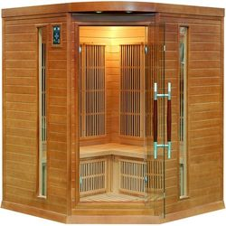 Home&Garden Sauna Infra Red DH3C CN + koloroterapia (5904730242639)