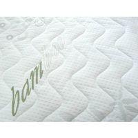 Pokrowiec na materac z włóknami bambusowymi na wymiar - Bamboo 120 x 200