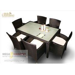 zestaw mebli stołowych capitale marki Bello giardino