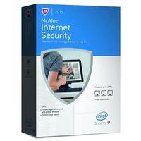 McAfee Internet Security 2016 PL 3 PC Licencja na rok (oprogramowanie)