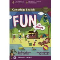 Fun for Movers Student's Book with Audio with Online Activities, Anne Robinson, Karen Saxby