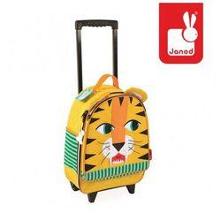 Walizka na kółkach Tygrys, , produkt marki Janod