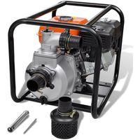 vidaXL Spalinowa pompa wody 80 mm 6,5 HP