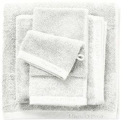 Marc o'polo Elegancka myjka bawełniana, rękawica do mycia w odcieniu czerni, , ręcznik do mycia, 16 x 22 cm