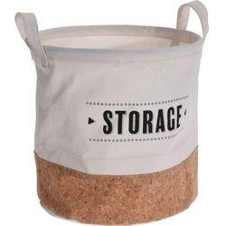 Materiałowy kosz na pranie z uchwytami, torba na pranie, kosz na pranie tekstylny, kosz łazienkowy, pojemnik na pranie marki Storagesolutions