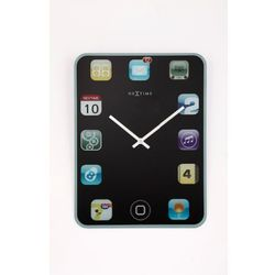 Nextime :: zegar ścienny wall pad 40 x 30cm czarny