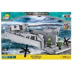 Klocki COBI 4813 LCVP Higgins Boat. Barka desantowa