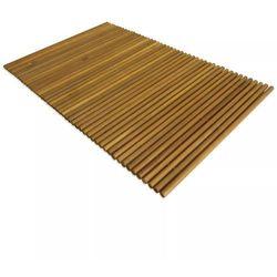 Vidaxl mata łazienkowa, drewno akacjowe, 80 x 50 cm (8718475582519)
