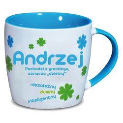 Nekupto, Andrzej, kubek ceramiczny imienny, 330 ml