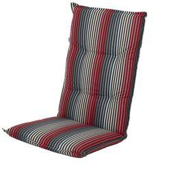 Doppler poduszka na krzesło London szara/czerwona