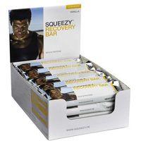 Squeezy Recovery Bar 20szt x 50g (waniliowy) - pudełko z 20 batonami energetycznymi