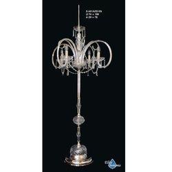 Lampa podłogowa kryształowa na 4 żarówek - Elite Bohemia, S 441/4/03 KN