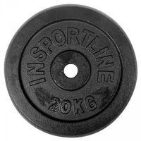Obciążenie żeliwne 20kg inSPORTline