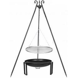 Grill ogrodowy FARMCOOK Ruszt Stal nierdzewna 70 cm + Palenisko PAN 36 80 cm