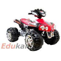 Najnowszy olbrzymi quad na akumulator 2 silniki/ zp-5128a marki Import super-toys