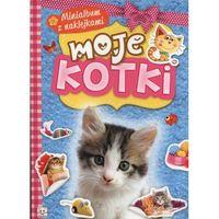 Minialbum z naklejkami - Moje kotki + zakładka do książki GRATIS, oprawa broszurowa