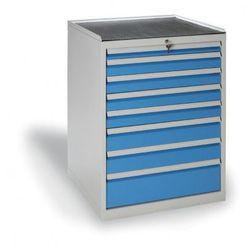 B2b partner Szafa warsztatowa z szufladami, 8 szuflad
