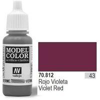 Vallejo Farba Nr43 Violet Red Matt 17ml - produkt z kategorii- Farby modelarskie