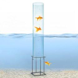 Blumfeldt Skydive 100, wieża do obserwacji ryb, 100 cm, śr. 20 cm, akryl/metal, przezroczysta