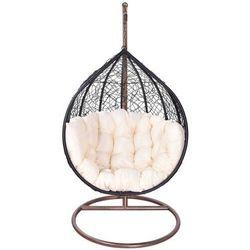 Fotel ogrodowy wiszący ▪️ classic xl brązowy ▪️ 1 osobowy marki E-lozka